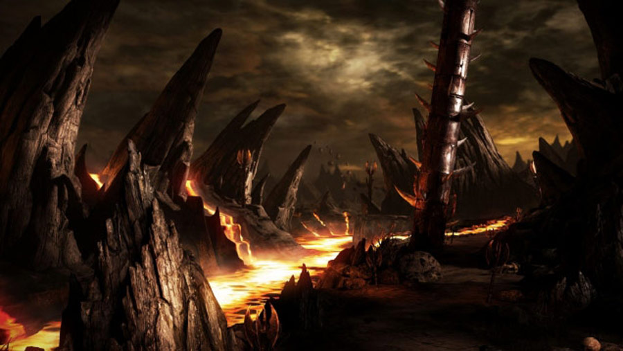 Mortal Kombat X screen shots of Erron Black, Baraka, Shinnok, Goro and Jax #29
