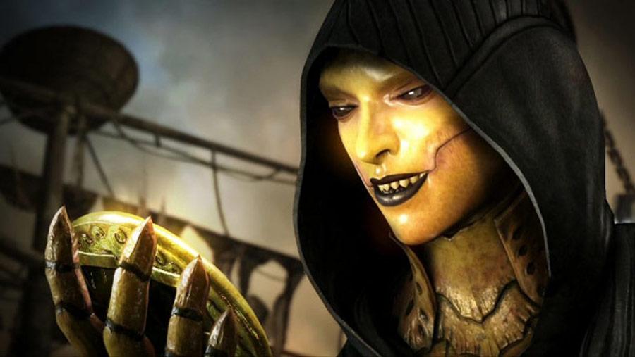 Mortal Kombat X screen shots of Erron Black, Baraka, Shinnok, Goro and Jax #34
