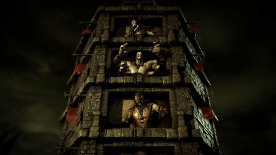 Mortal Kombat X screen shots of Erron Black, Baraka, Shinnok, Goro and Jax #40