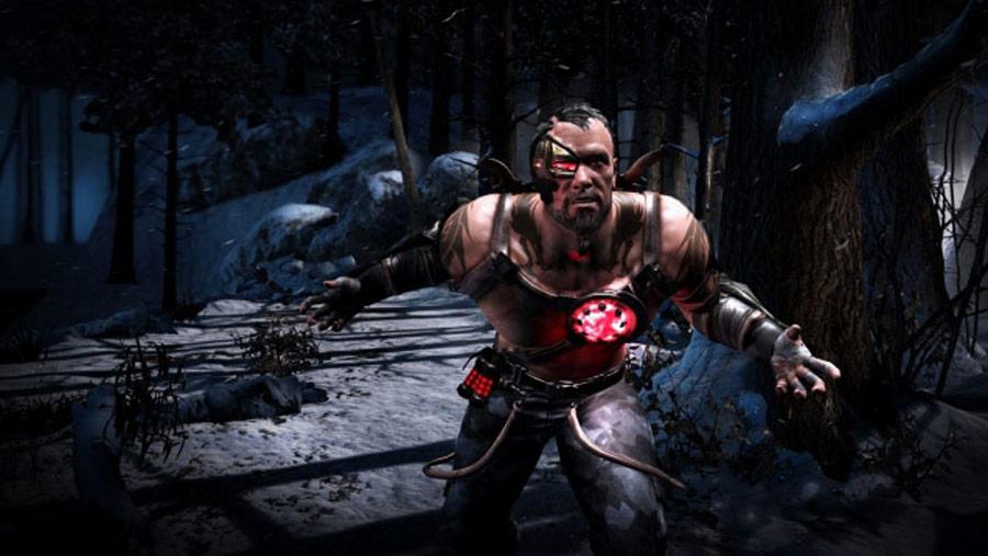 Mortal Kombat X screen shots of Erron Black, Baraka, Shinnok, Goro and Jax #53