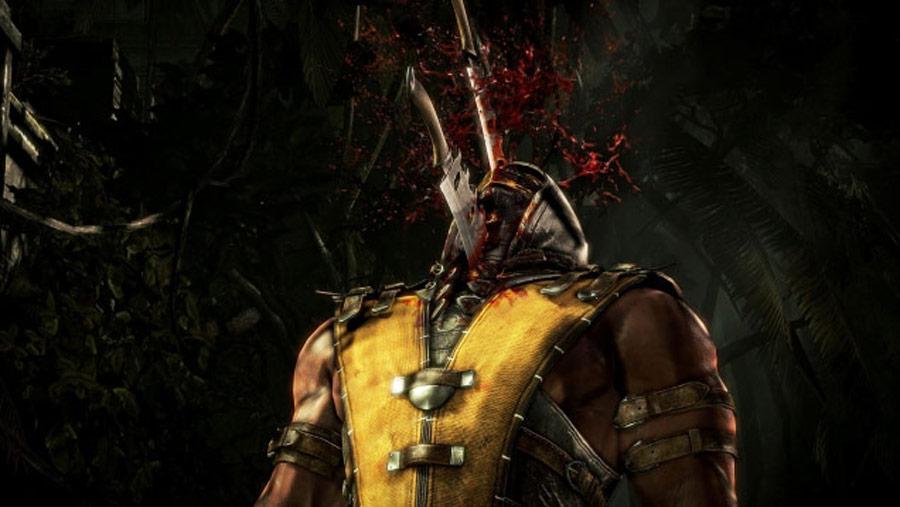 Mortal Kombat X screen shots of Erron Black, Baraka, Shinnok, Goro and Jax #56