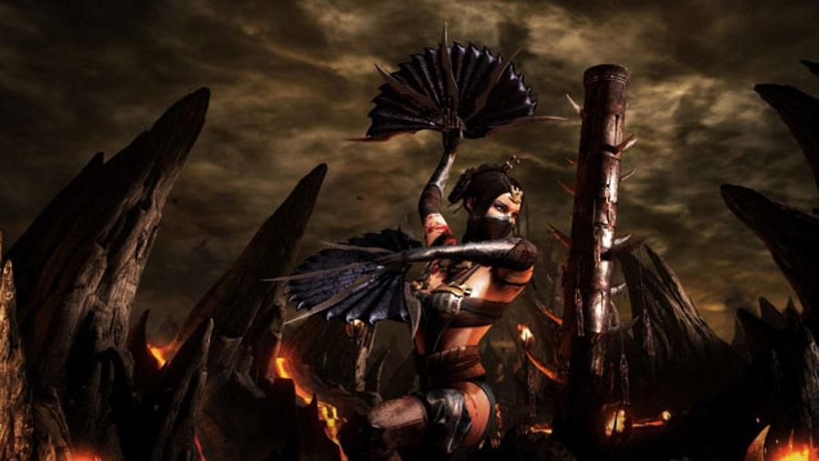 Mortal Kombat X screen shots of Erron Black, Baraka, Shinnok, Goro and Jax #58