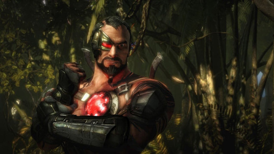 Mortal Kombat X screen shots of Erron Black, Baraka, Shinnok