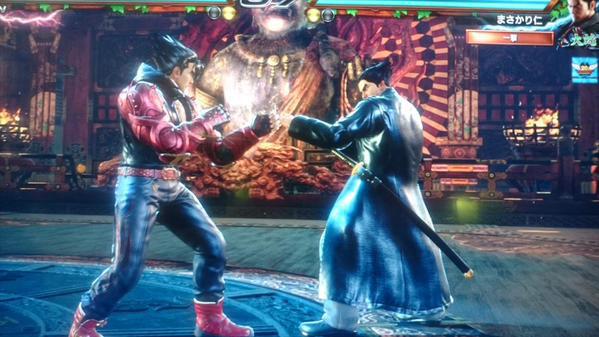 Jin Kazama as hidden sub-boss in Tekken 7, image #4