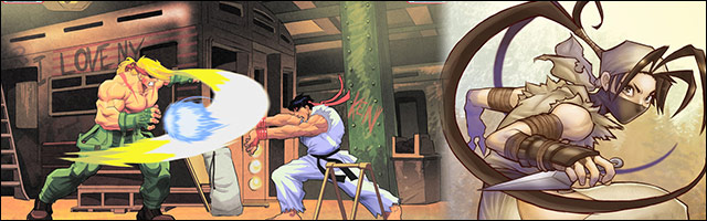 Character Portraits In Game Action And Emotional Snap Shots Danusko S Displays His Artistic Versatility With These Fighting Game Based Drawings