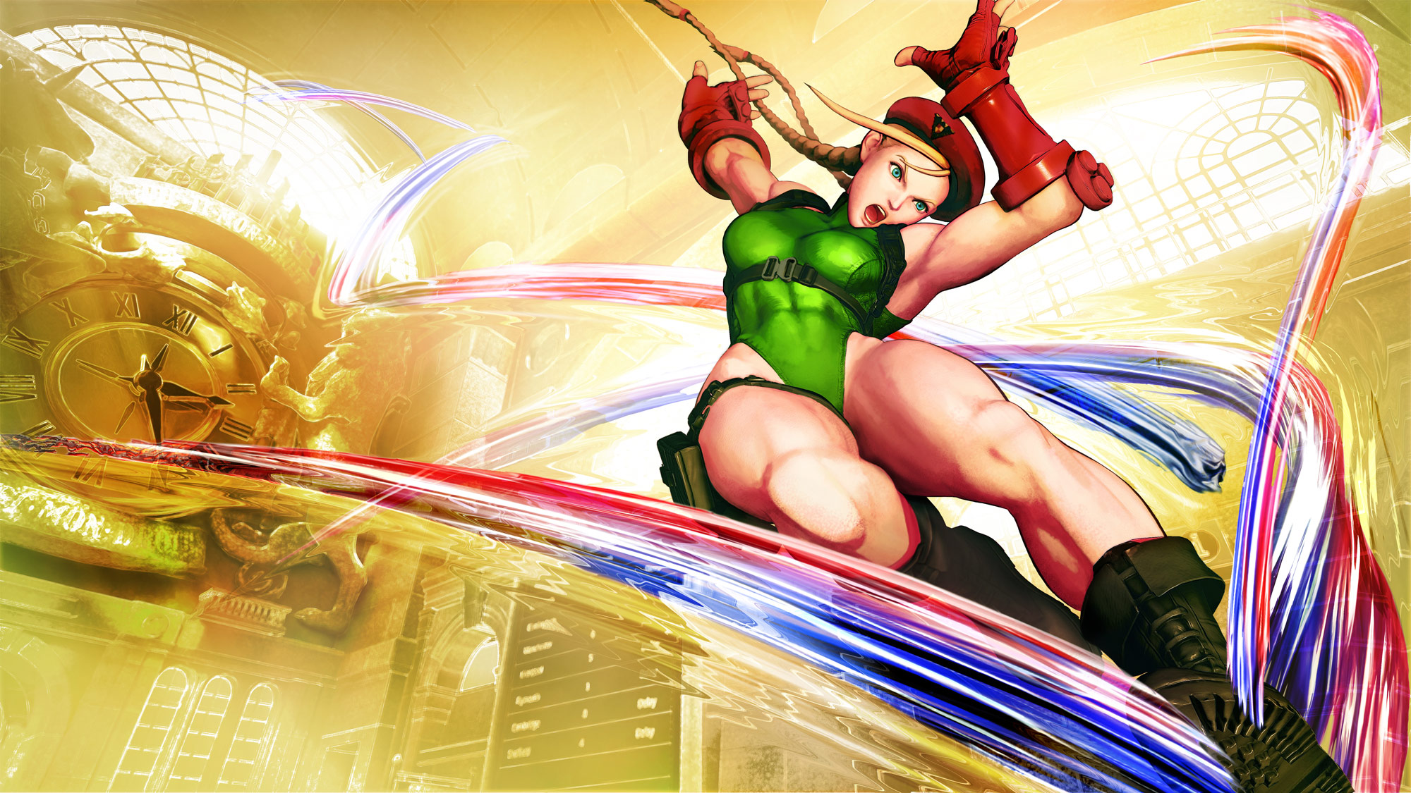 Birdie and Cammy artwork in Street Fighter 5 1 out of 2 image gallery
