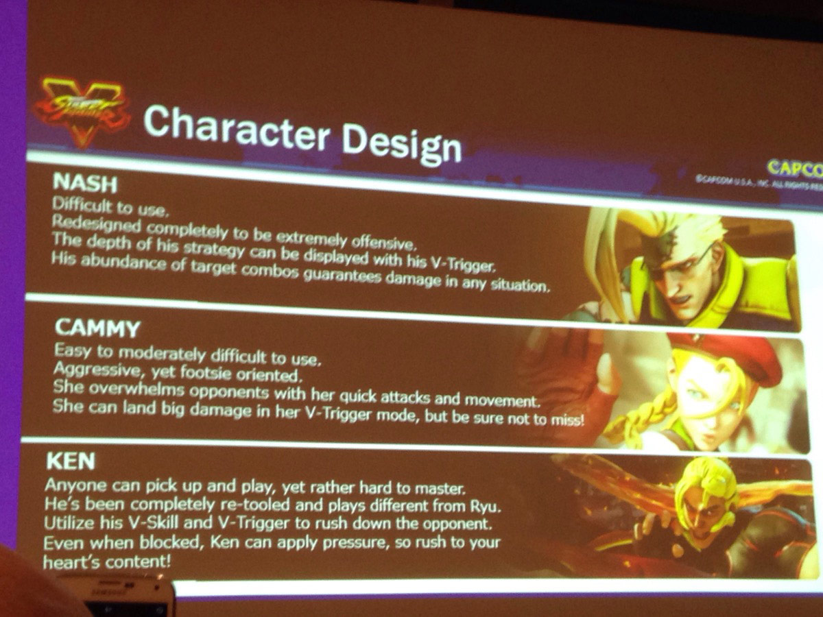 Street Fighter 5 panel at EVO 2015 12 out of 20 image gallery