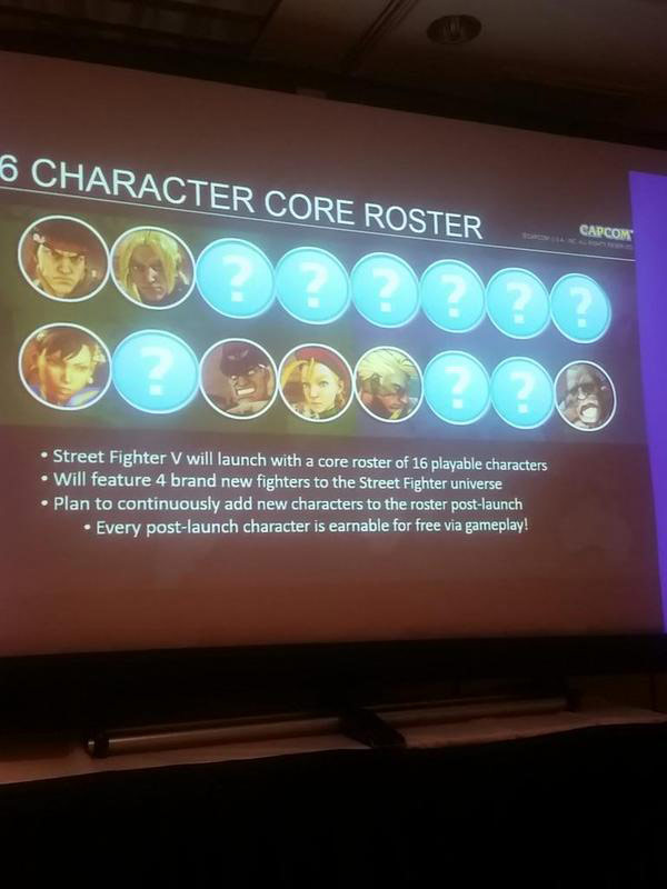 Street Fighter 5 panel at EVO 2015 19 out of 20 image gallery