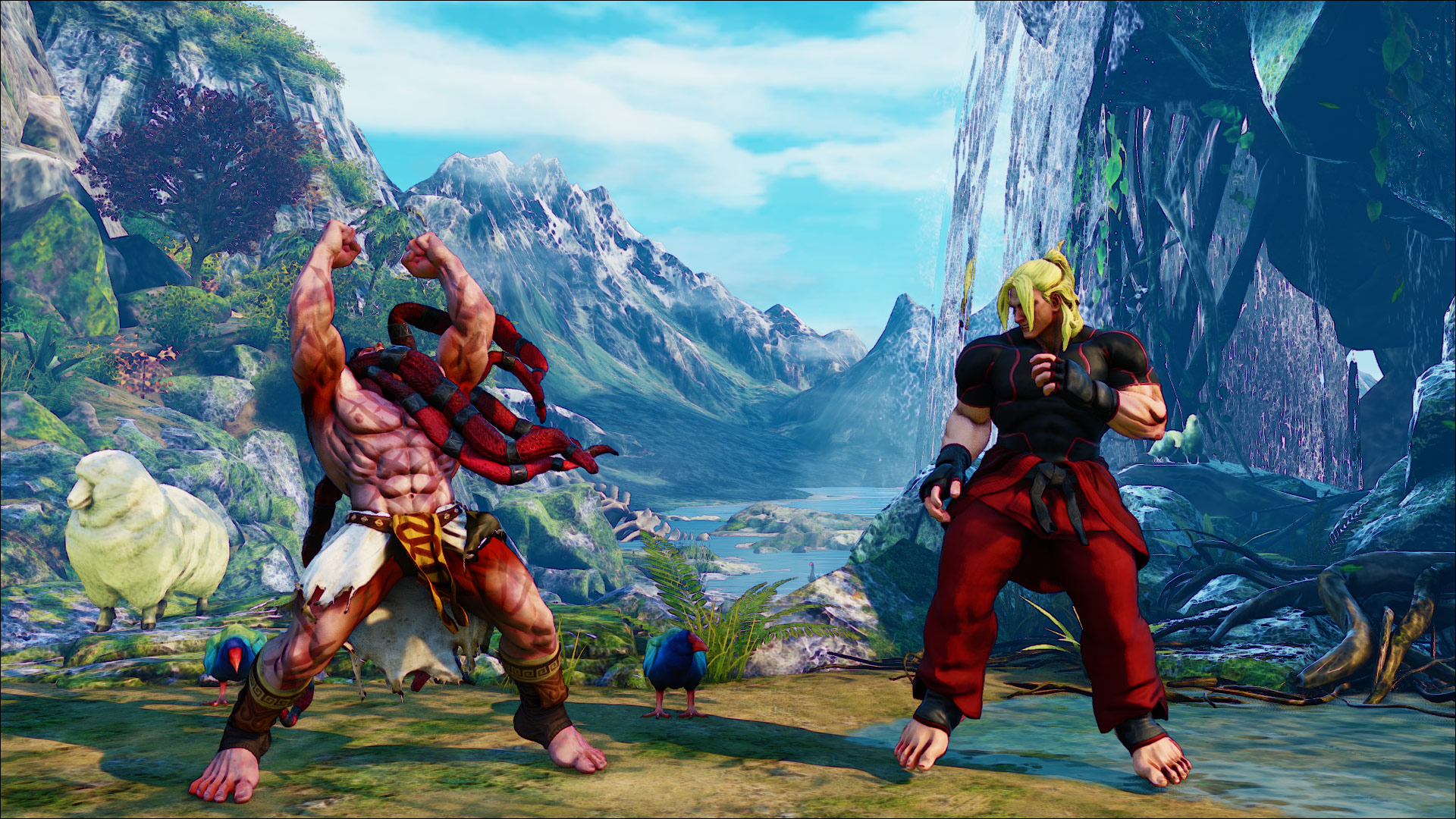 Official screenshots of Necalli in SF5 1 out of 17 image gallery
