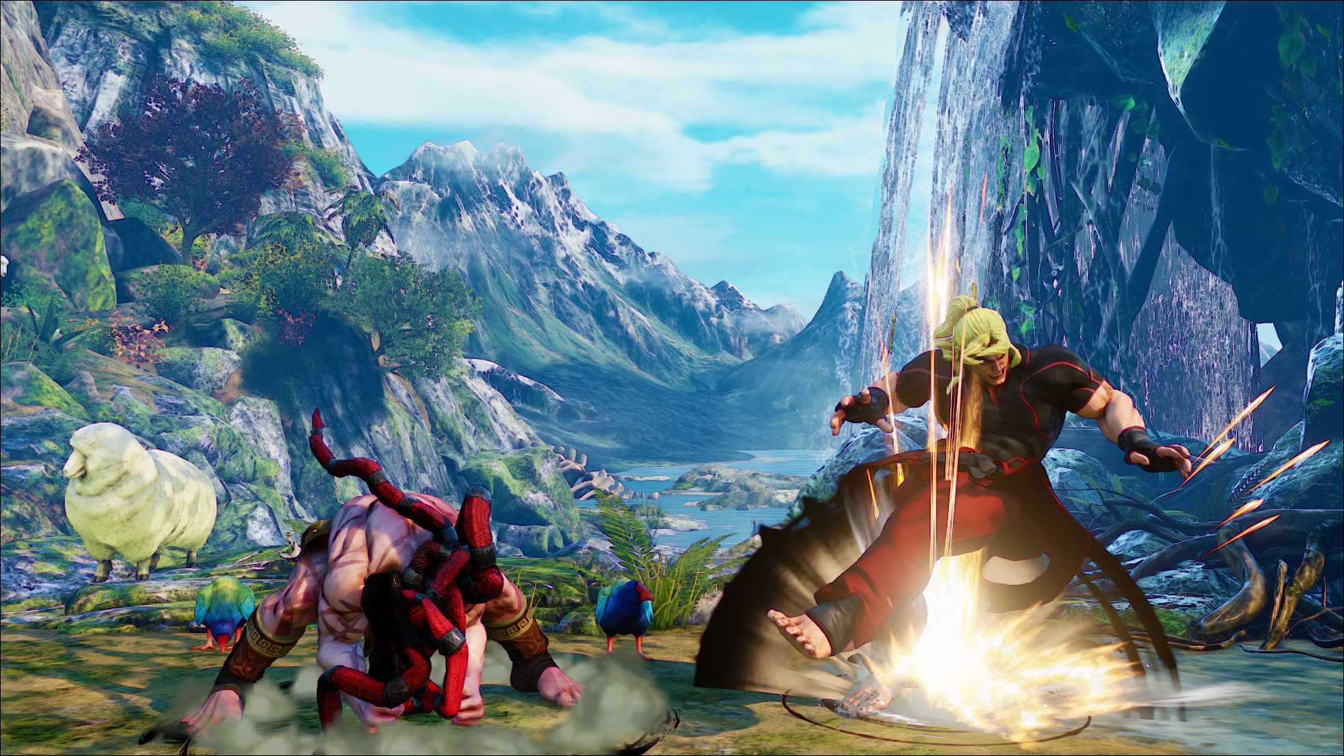 Official screenshots of Necalli in SF5 2 out of 17 image gallery