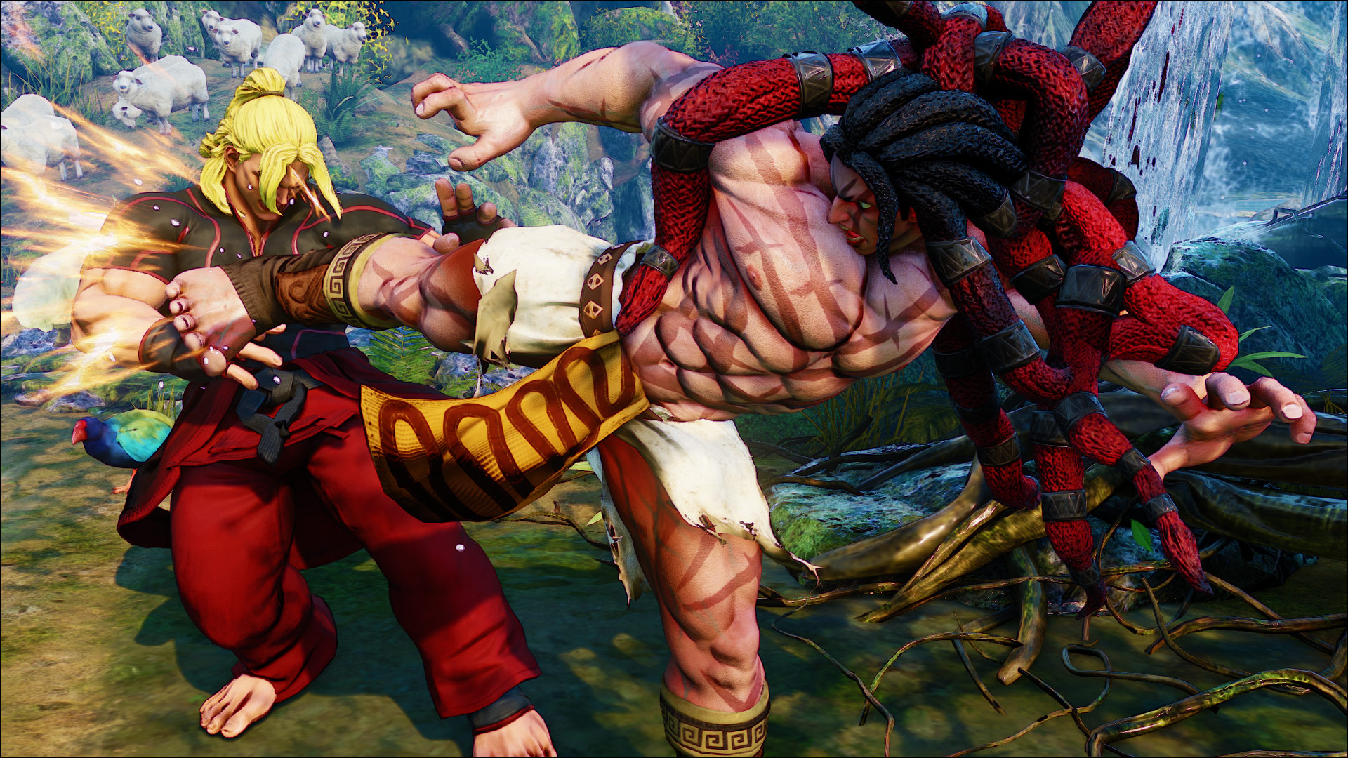 Official screenshots of Necalli in SF5 8 out of 17 image gallery