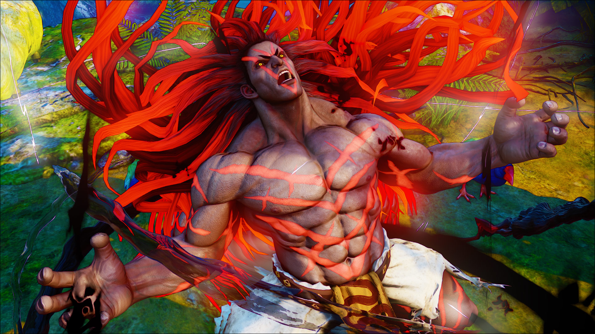 Official screenshots of Necalli in SF5 12 out of 17 image gallery