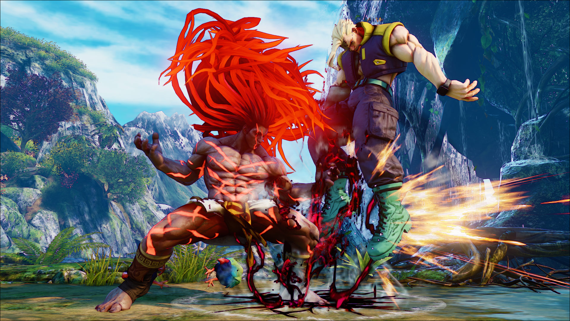 Official screenshots of Necalli in SF5 14 out of 17 image gallery