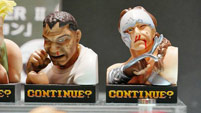 Street Fighter 2 'Continue' statues image #4