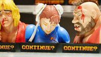 Street Fighter 2 'Continue' statues image #7