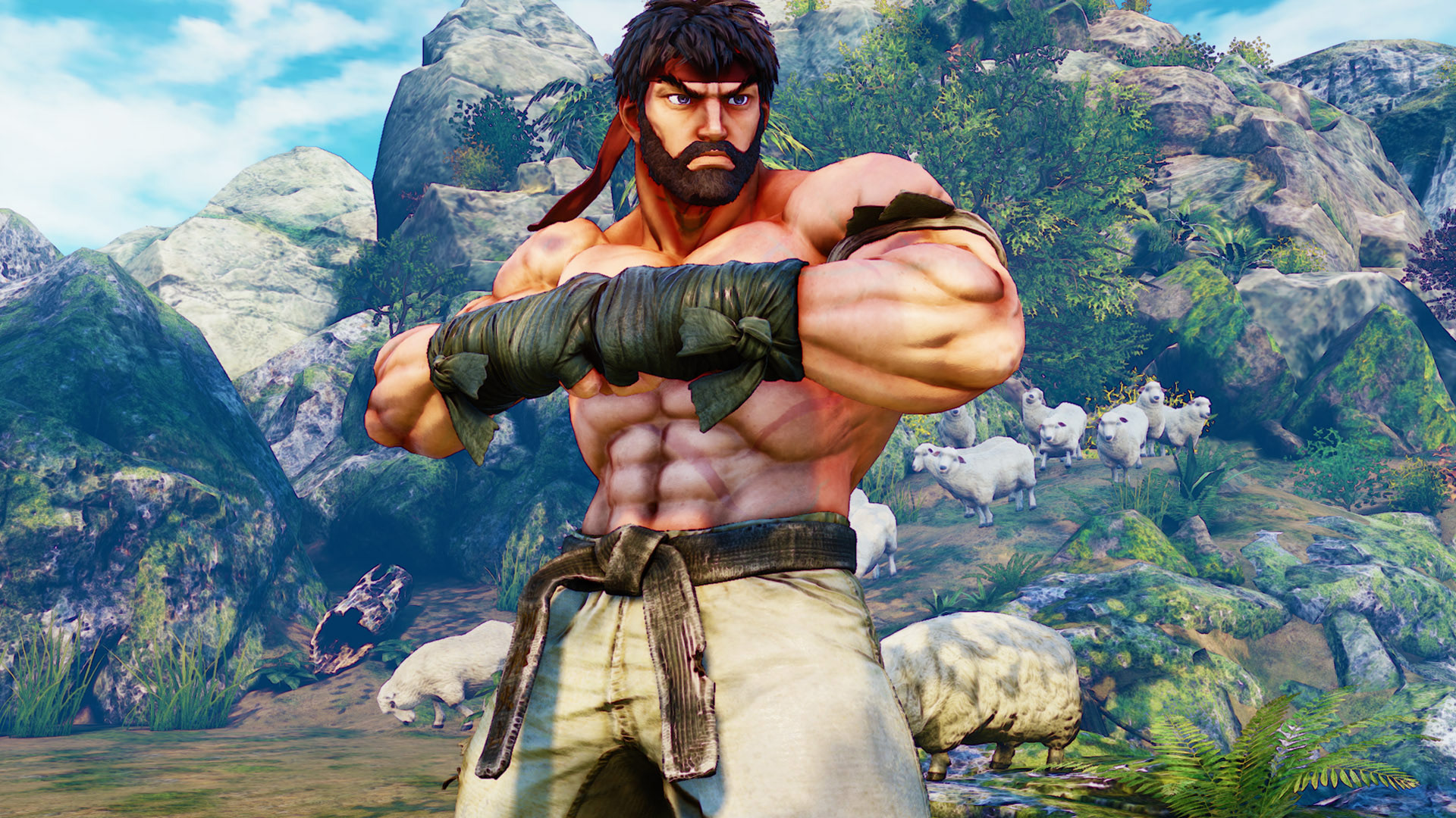 """Street Fighter 5 """"Hot Ryu"""" 1 out of 2 image gallery"""