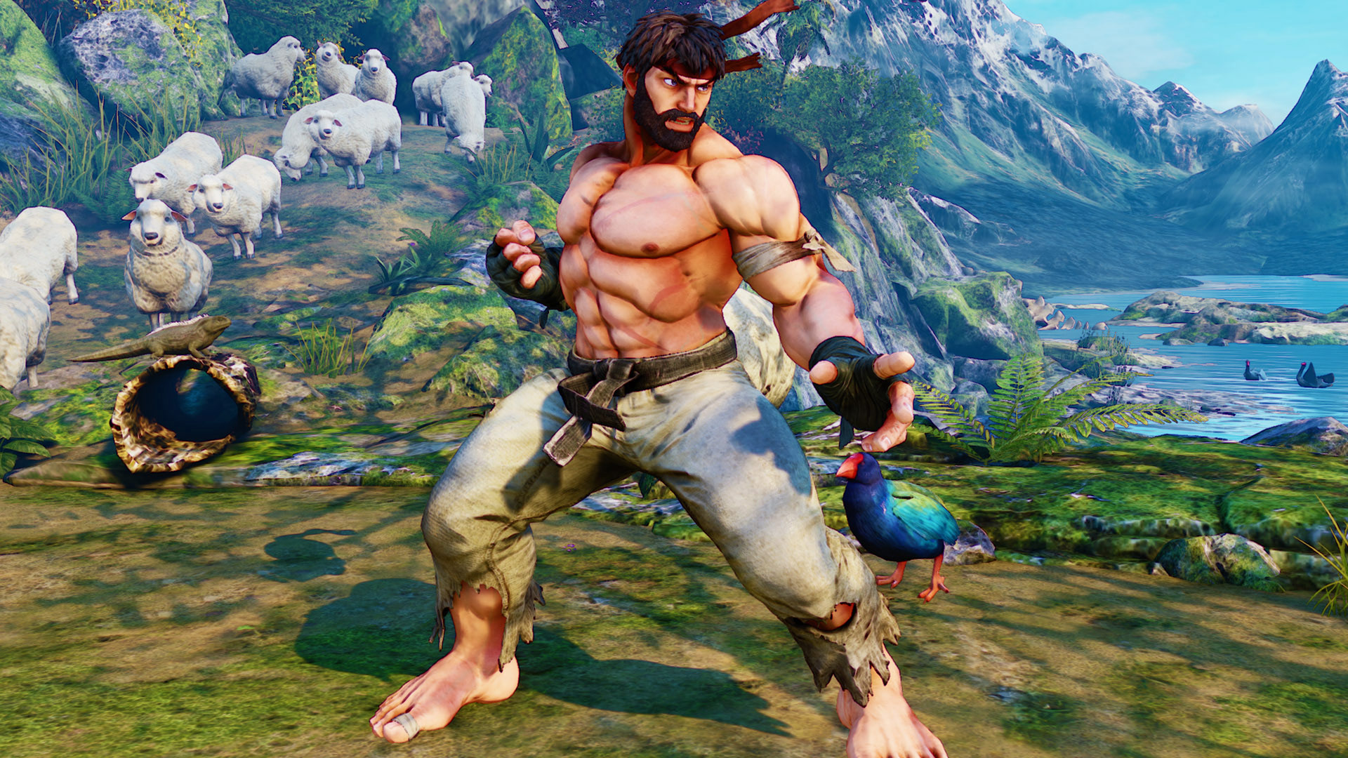 """Street Fighter 5 """"Hot Ryu"""" 2 out of 2 image gallery"""