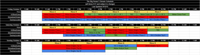 The Big House 5 schedul image #2