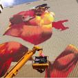 Giant E. Honda mural in Japan image #3