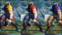 Street Fighter 5 beta colors images image #7