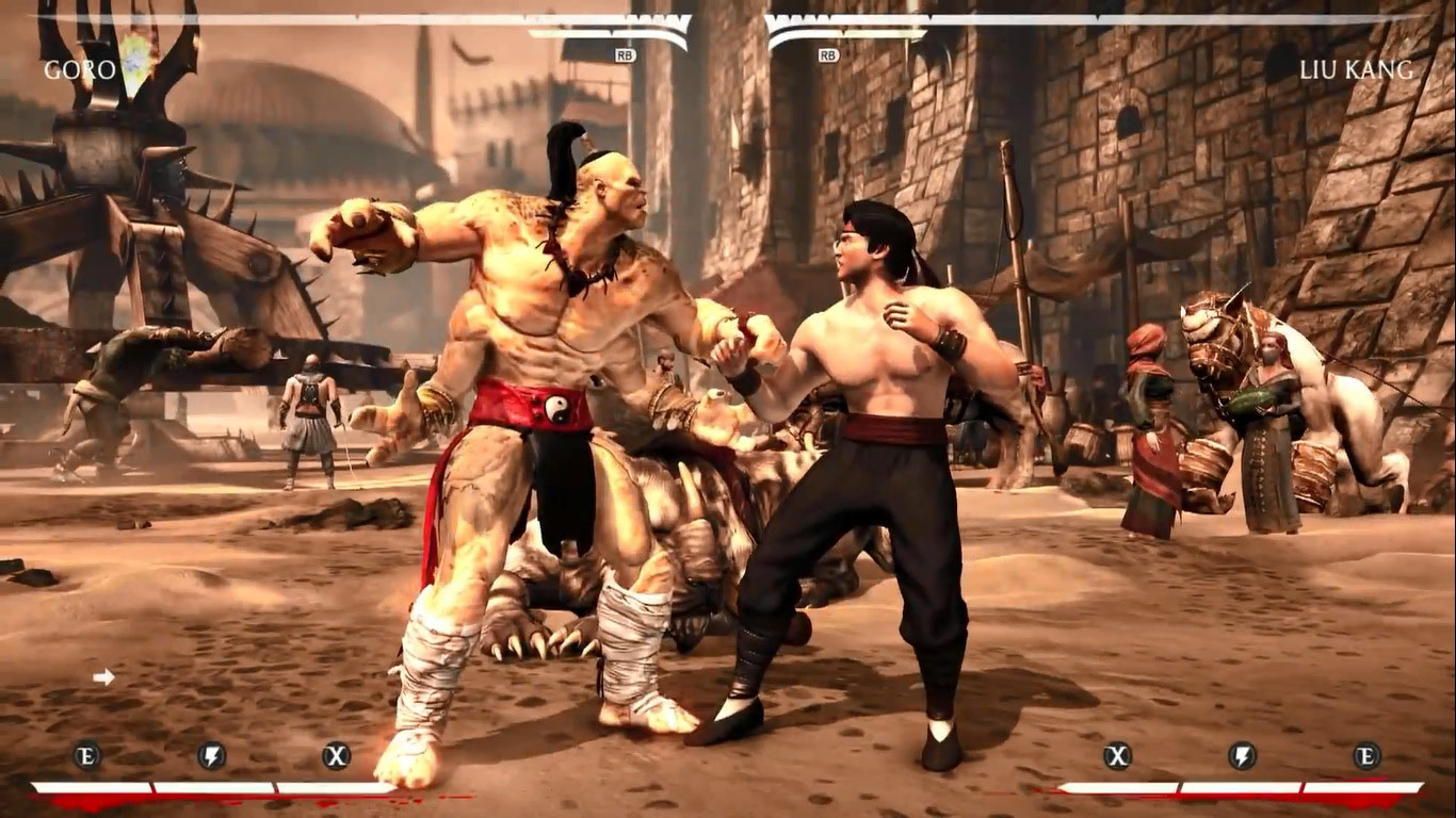 Mortal Kombat X PC mods, classic Goro / Noob 5 out of 6