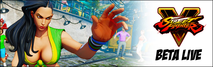 Street Fighter 5 beta live unexpectedly, Laura playable
