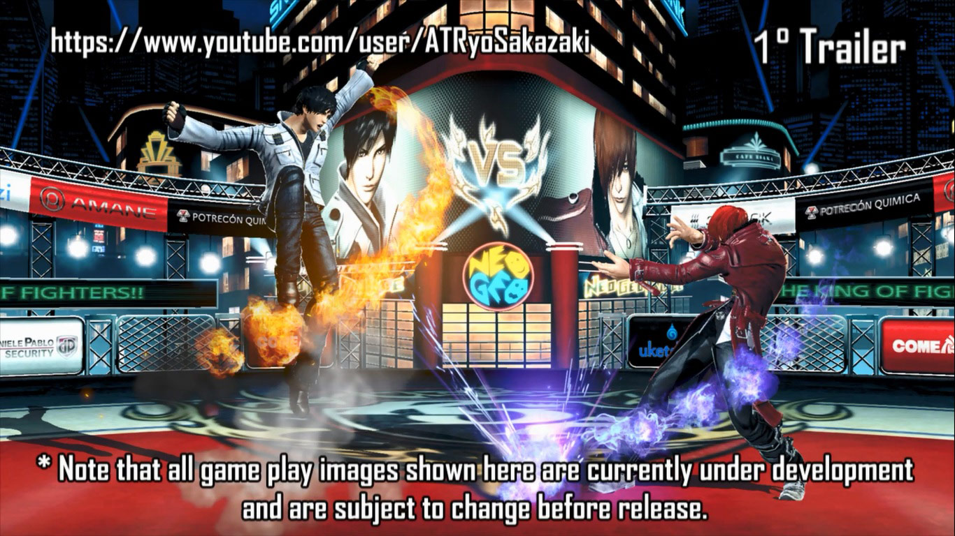 King of Fighters 14 graphics / char select 1 out of 8 image gallery
