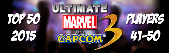 EventHubs 2015 top 50 Ultimate Marvel vs  Capcom 3 players 41-50