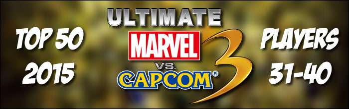 EventHubs 2015 top 50 Ultimate Marvel vs. Capcom 3 players 31-40 - Evil Geniuses land multiple spots
