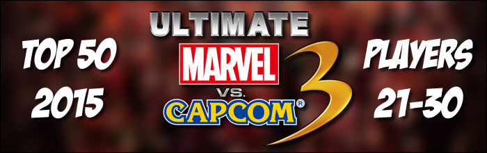 EventHubs 2015 top 50 Ultimate Marvel vs. Capcom 3 players 21-30 - former EVO champ and The Coach represent