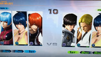 King of Fighters 14 character select, other menus  out of 7 image gallery