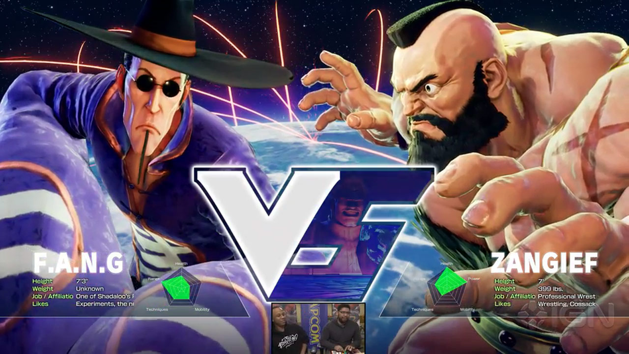 Street Fighter 5 Character Select Screen 4 Out Of 6 Image Gallery