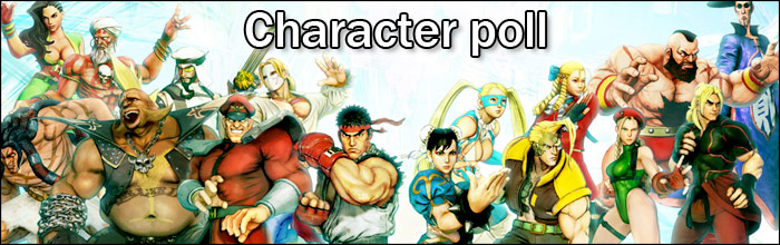 Poll: Which characters do you plan on playing in Street