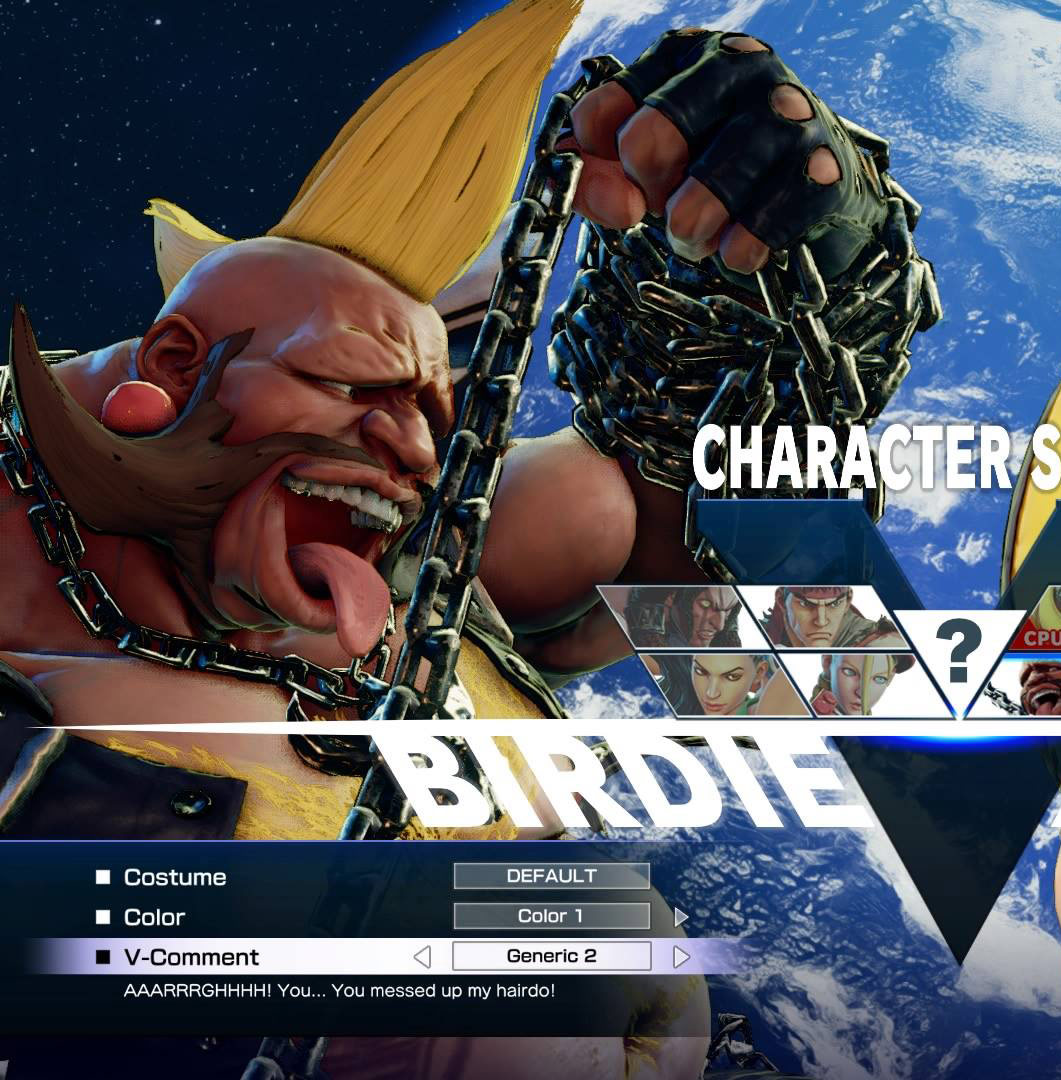 Ridiculous Street Fighter 5 V-Comments 8 out of 8 image gallery