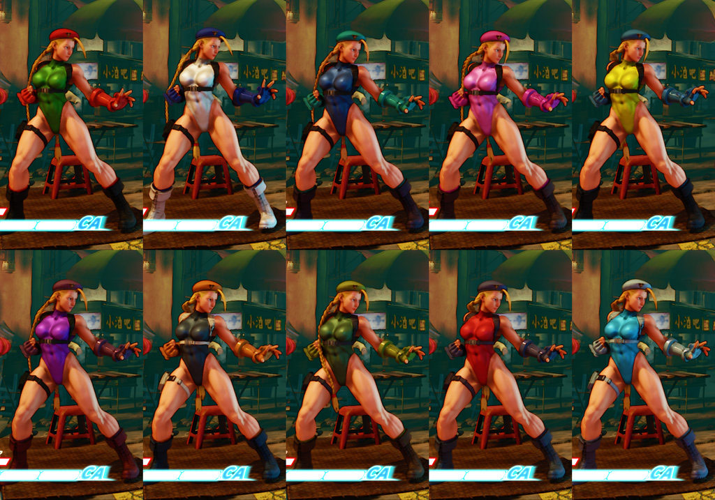 Street Fighter 5 colors for default costumes 6 out of 16 image gallery