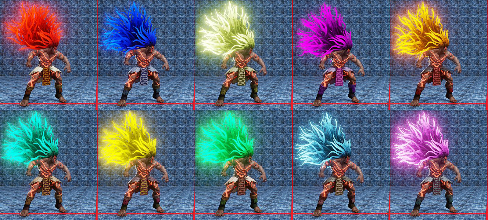 Street Fighter 5 colors for default costumes 13 out of 16 image gallery