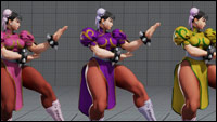 Street Fighter 5 colors for default costumes  out of 16 image gallery