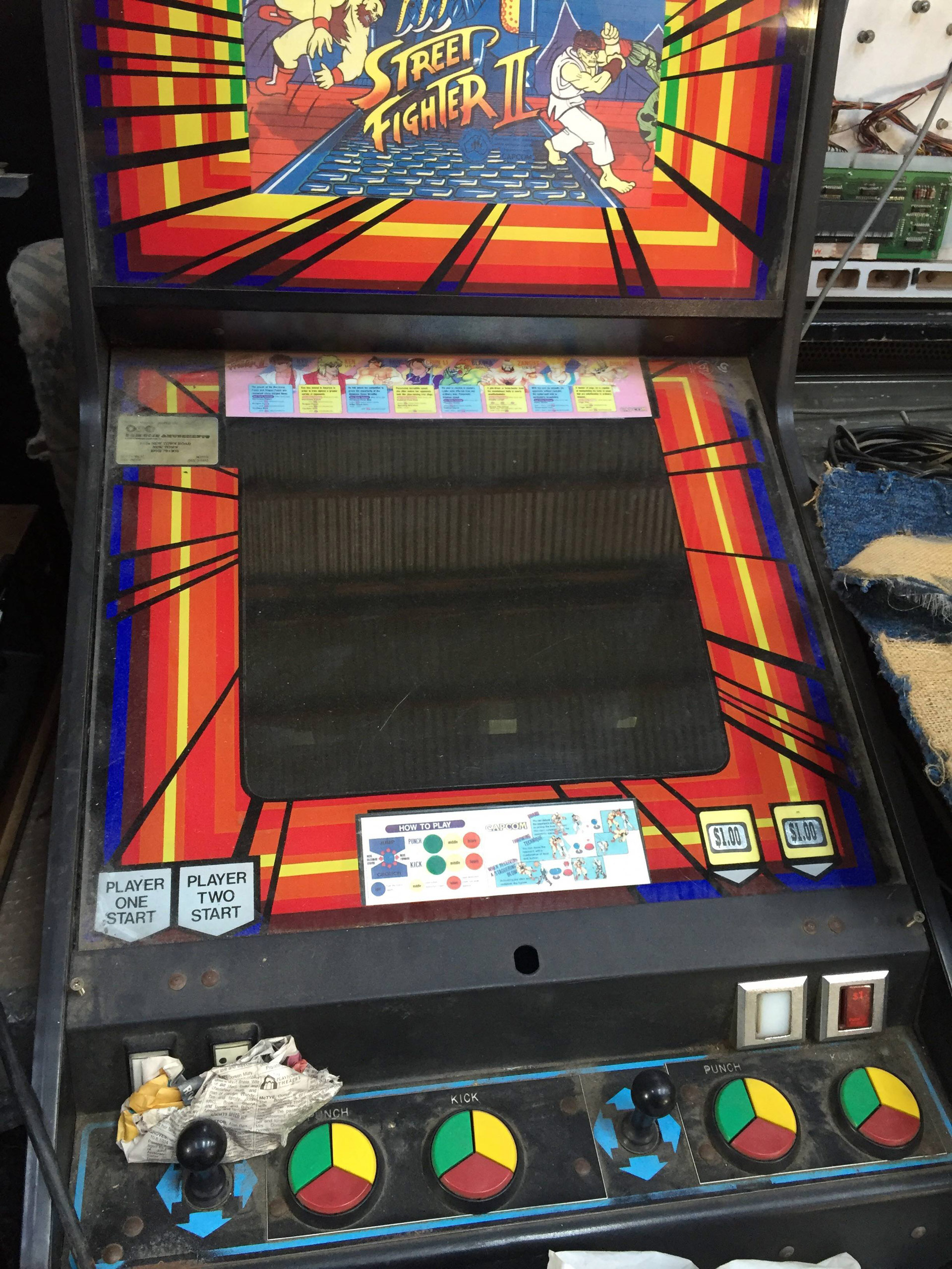 Worst Street Fighter 2 Button Layout Ever