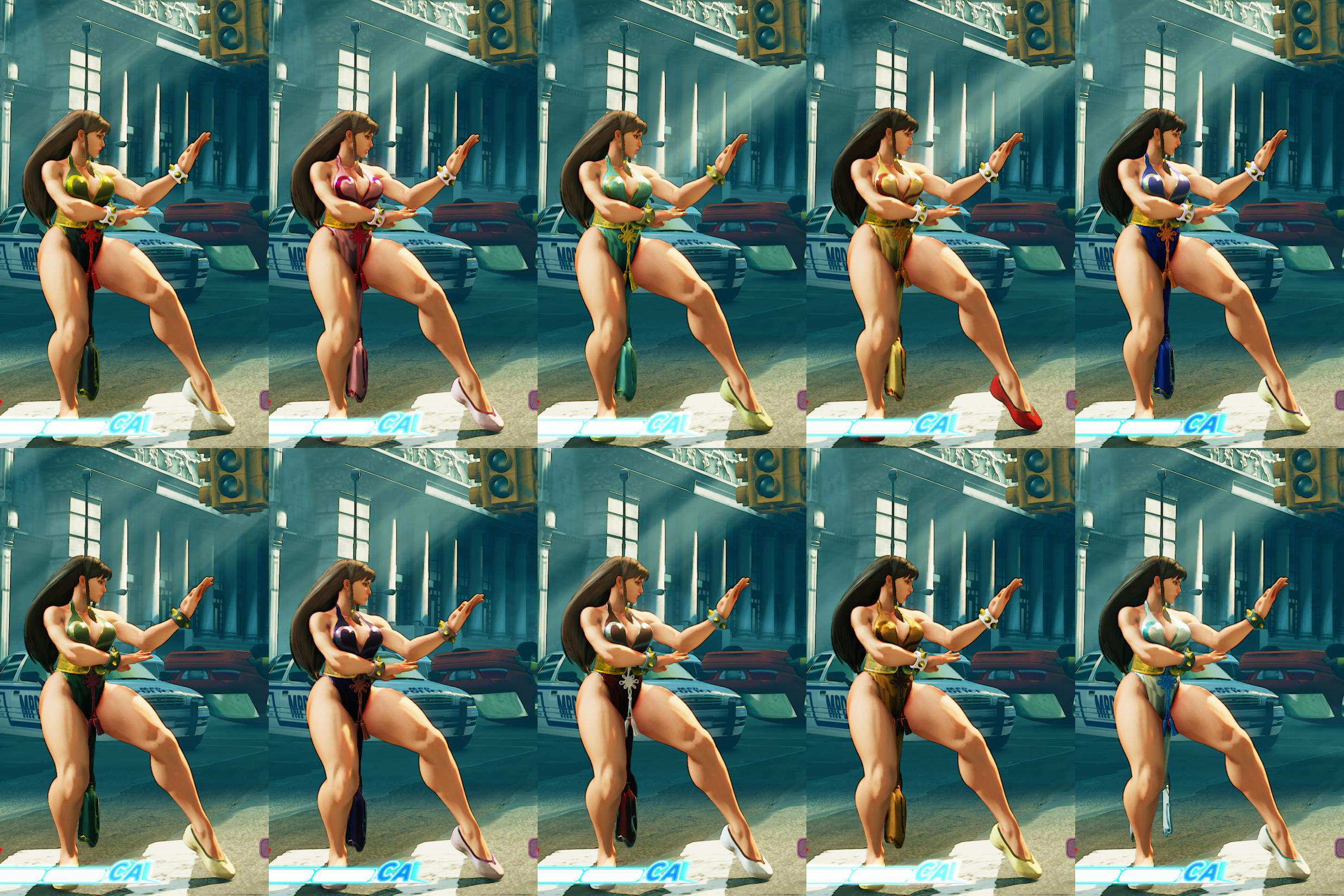 All colors for SF5 story and pre-order costumes 1 out of 21 image gallery