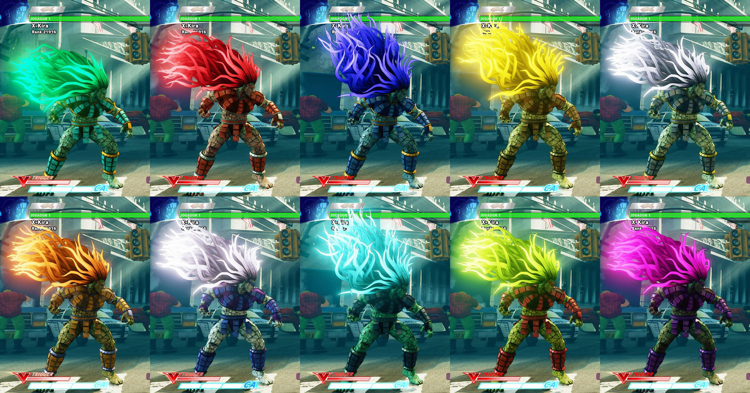 Game order colors - All Colors For Sf5 Story And Pre Order Costumes 4 Out Of 21 Image Gallery