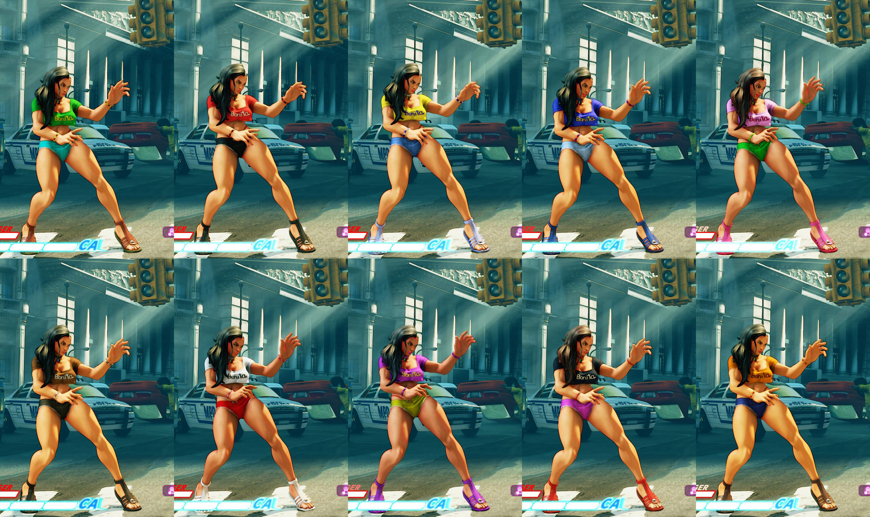 All colors for SF5 story and pre-order costumes 5 out of 21 image gallery
