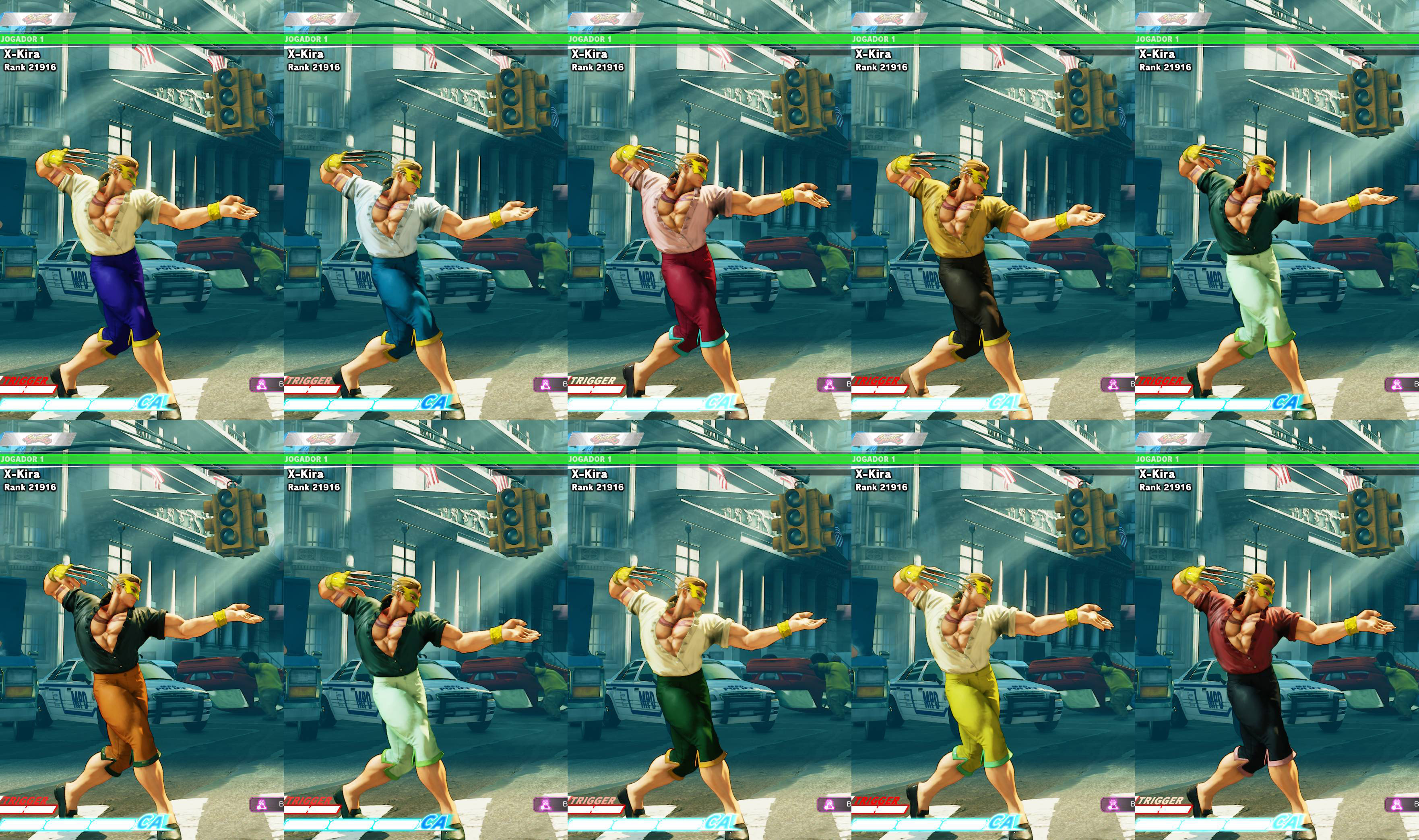 All colors for SF5 story and pre-order costumes 6 out of 21 image gallery
