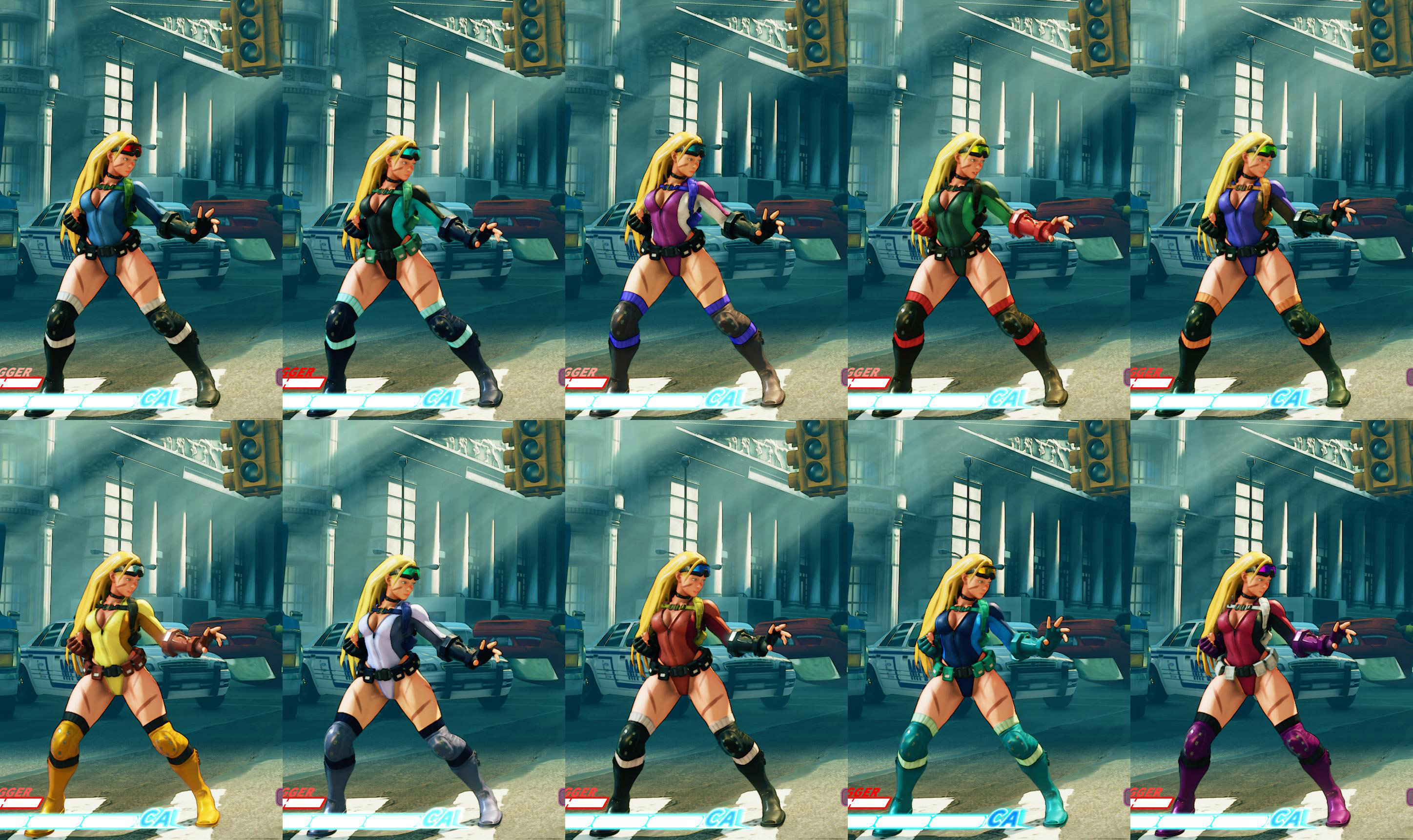 All colors for SF5 story and pre-order costumes 8 out of 21 image gallery