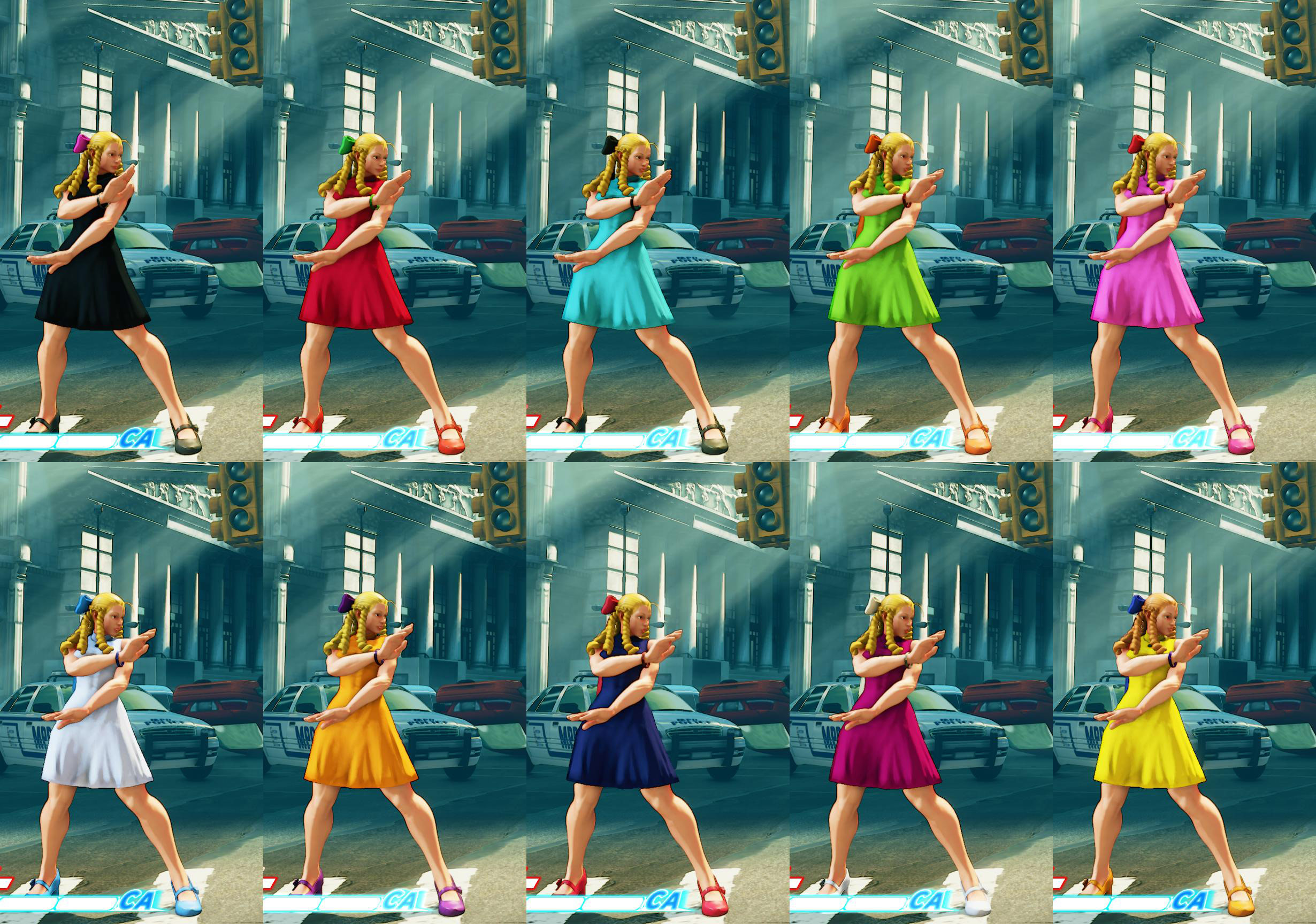 All colors for SF5 story and pre-order costumes 9 out of 21 image gallery