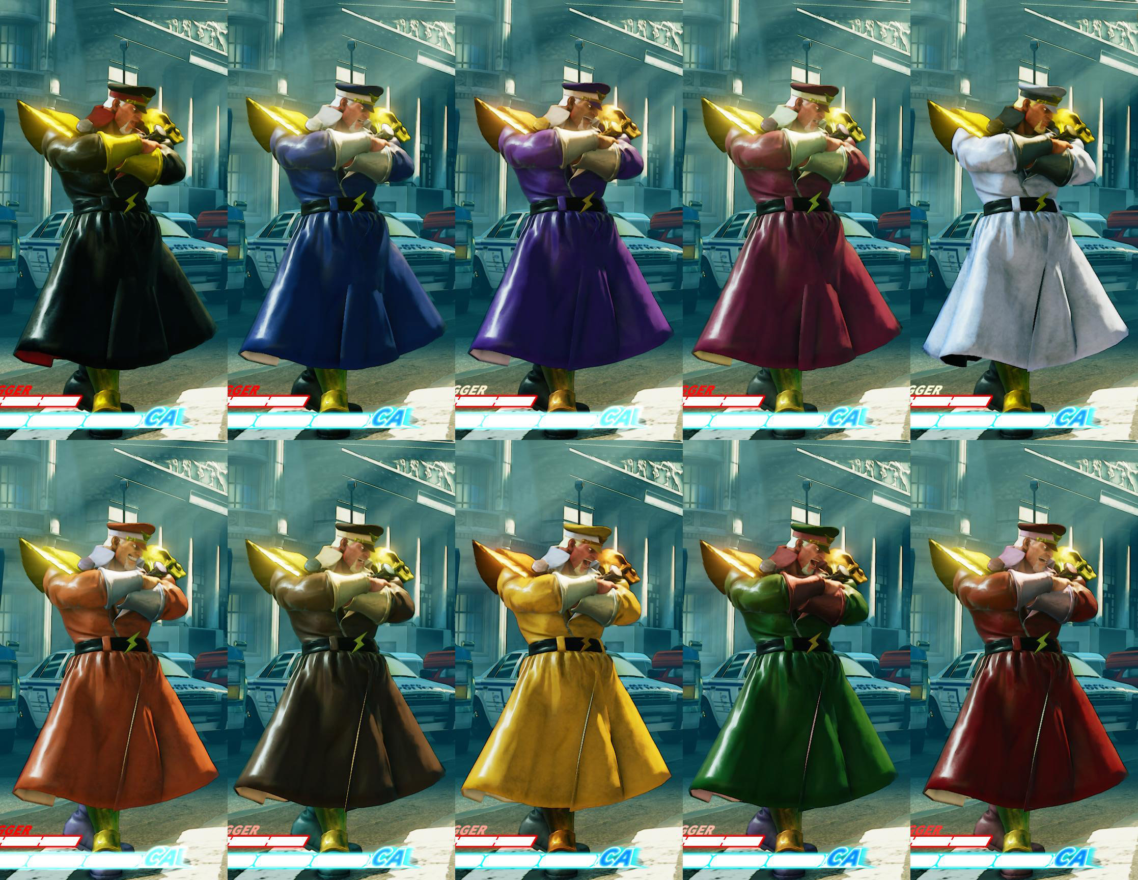 All colors for SF5 story and pre-order costumes 11 out of 21 image gallery