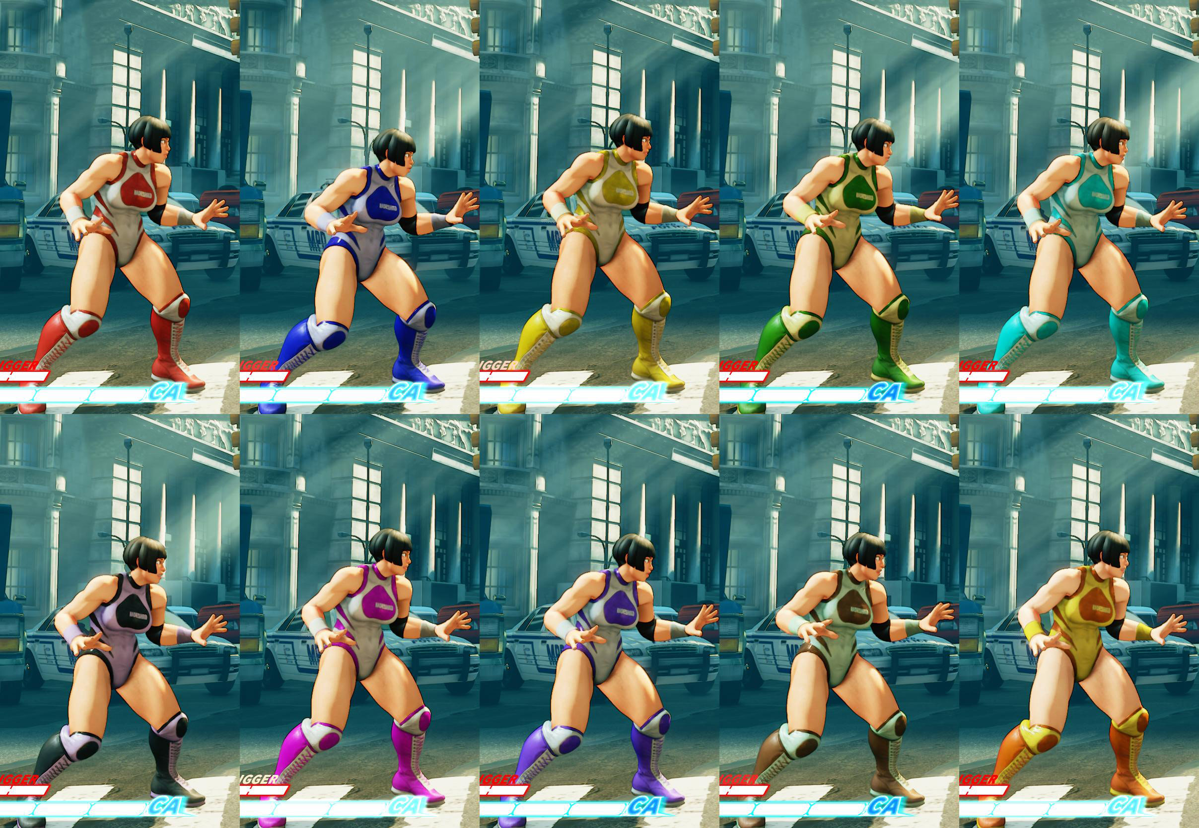 All colors for SF5 story and pre-order costumes 14 out of 21 image gallery
