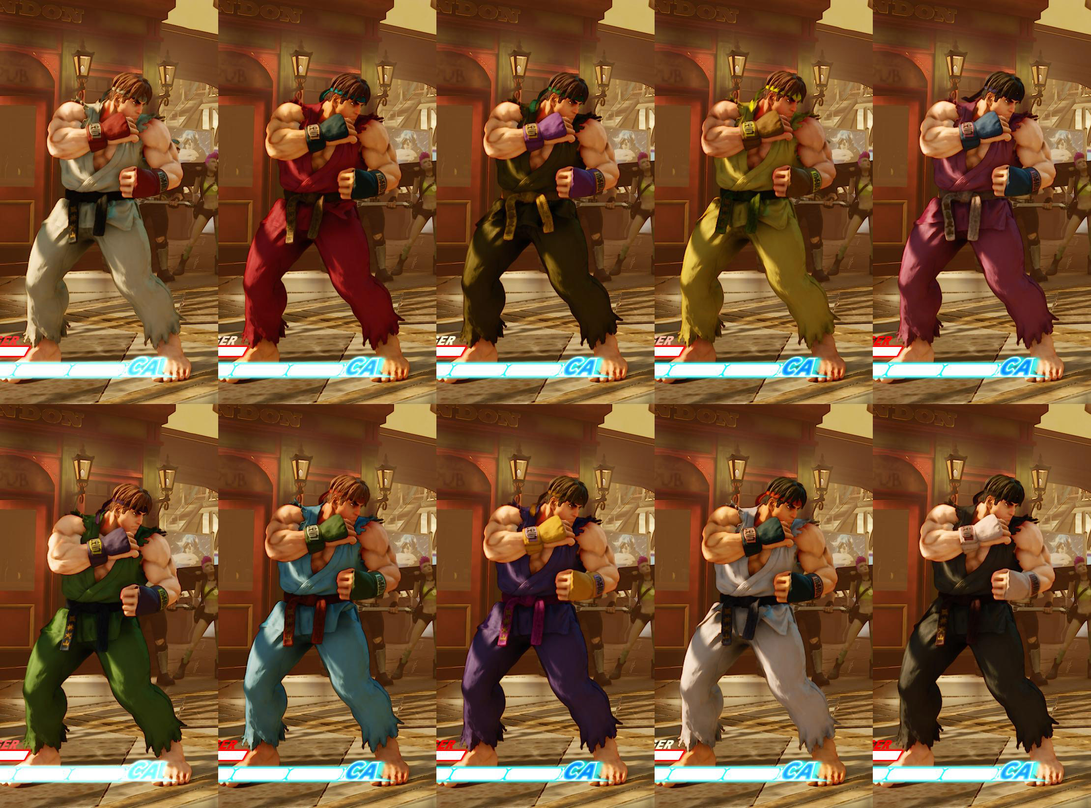 All colors for SF5 story and pre-order costumes 15 out of 21 image gallery
