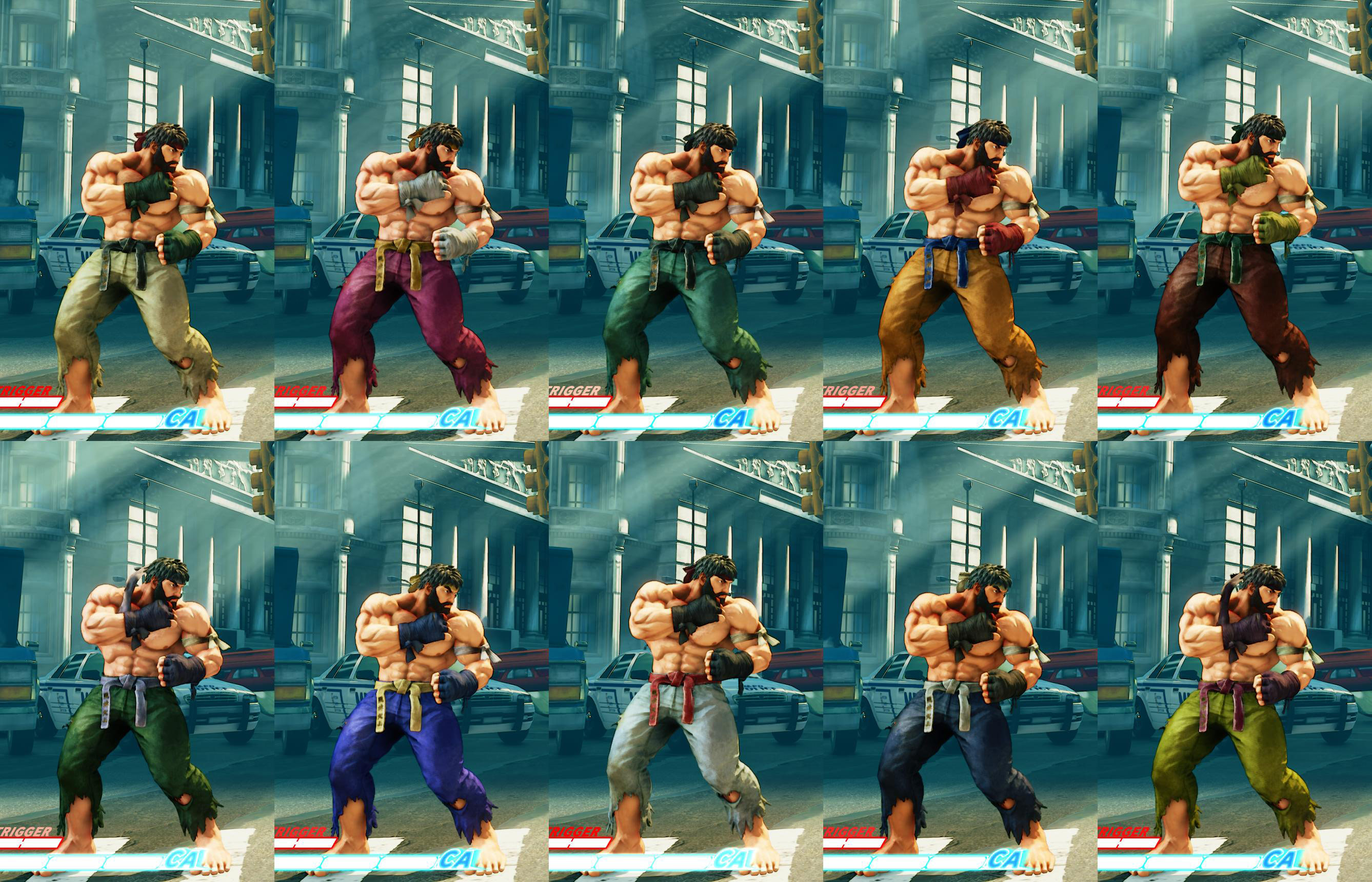 All colors for SF5 story and pre-order costumes 16 out of 21 image gallery