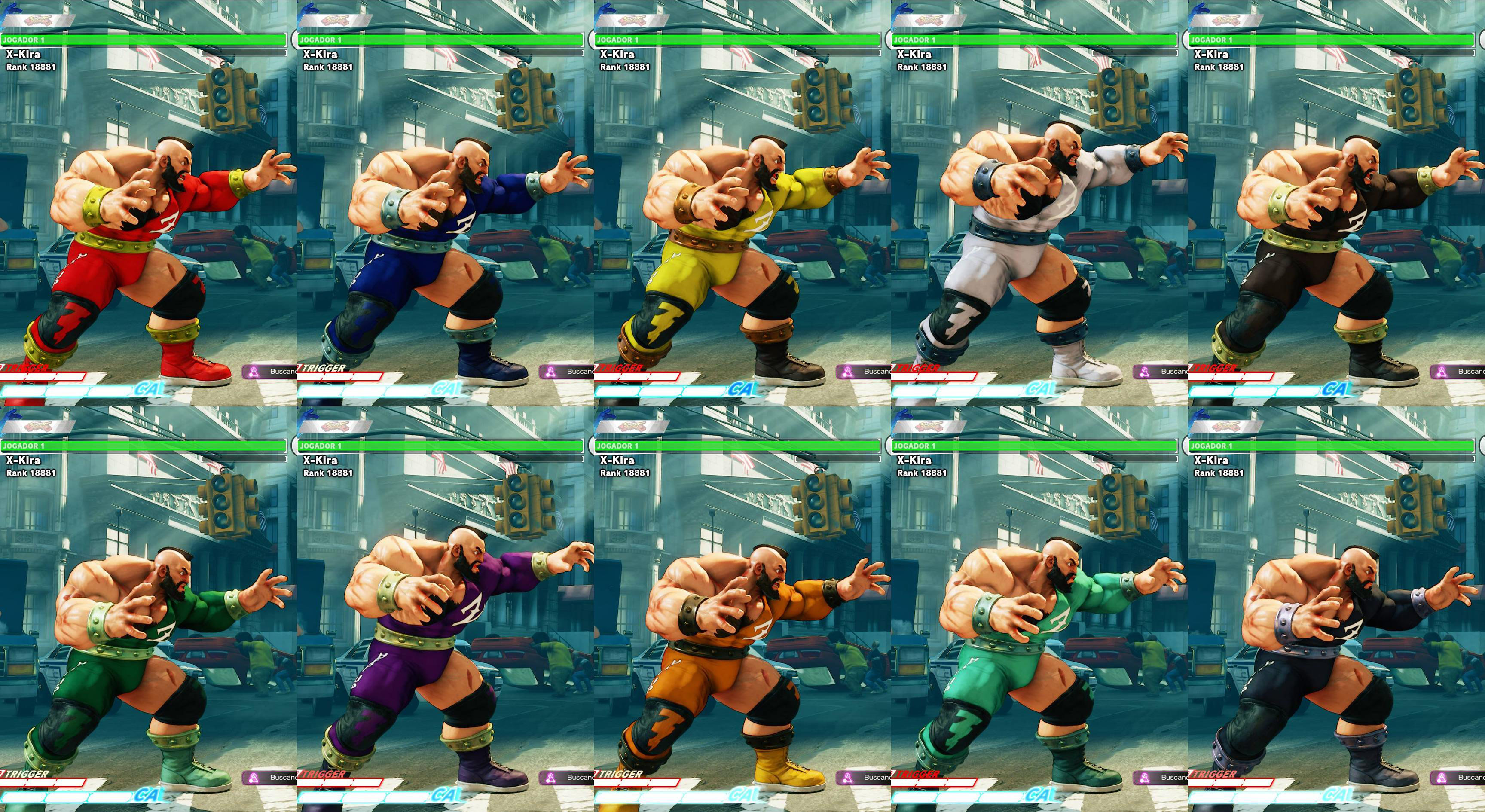All colors for SF5 story and pre-order costumes 19 out of 21 image gallery