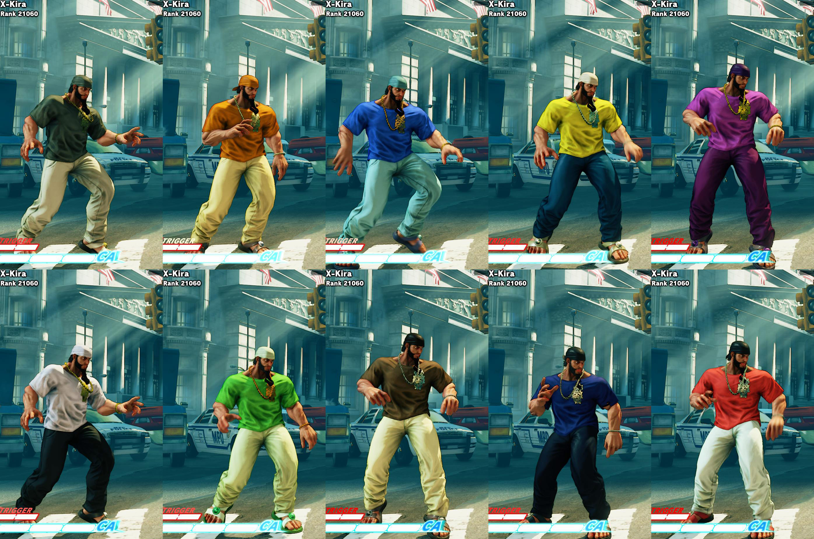 All colors for SF5 story and pre-order costumes 20 out of 21 image gallery